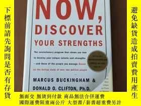 二手書博民逛書店Now,罕見Discover Your Strengths(16開精裝英文原版)Y5375 Marcus Bu