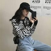 針織打底衫 2020新款秋季外穿打底衫長袖上衣女士寬鬆薄款套頭針織衫毛衣外套-米蘭街頭