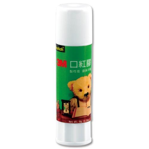 【奇奇文具】3M 6508(N)熊熊口紅膠 8g (1盒24支入)