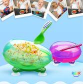 嬰兒碗餐具防摔輔食碗兒童碗勺吸盤碗【南風小舖】