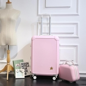 行李箱拉桿箱萬向輪女旅行箱子母202246吋密碼箱包大學生男登機箱