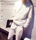 FIND.韓國 條紋 套裝 明星著用 劉以豪 上+下