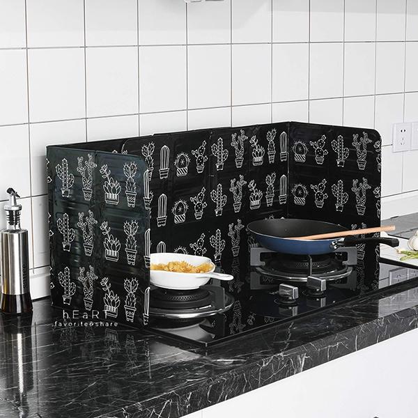 瓦斯爐炒菜專用擋油板 防油濺