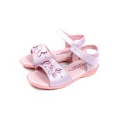 小女生鞋 涼鞋 蝴蝶 粉紅色 童鞋 733 no206