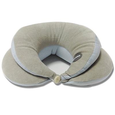 U型枕 肩頸-辦公室必備舒適雙層設計居家護頸枕頭73o16[時尚巴黎]
