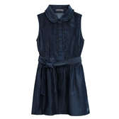 『小鱷魚童裝』牛仔綁帶洋裝(08號~16號)535351