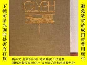 二手書博民逛書店Glyph罕見1. John Hopkins Textual S