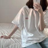 2019新款韓版寬鬆bf風百搭簡約少女半袖ins同款短袖T恤女上衣學生