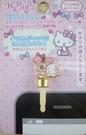 【震撼精品百貨】Hello Kitty 凱蒂貓~KITTY耳機防塵塞-英文字母Y