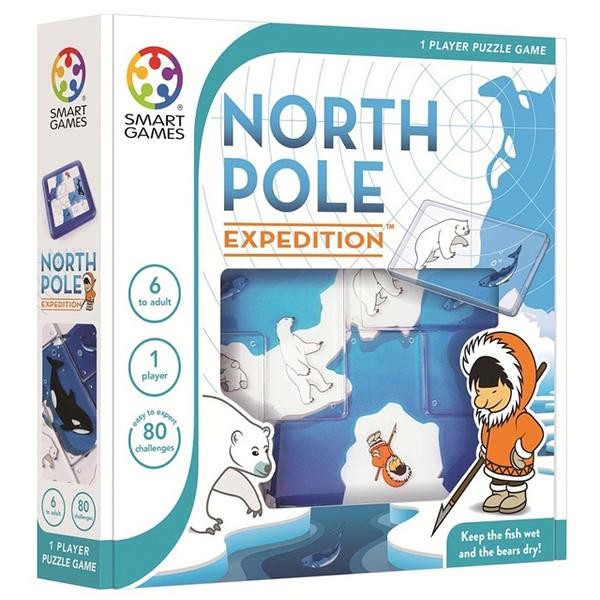 【SMART GAMES】冰原尋蹤-挑戰升級 North Pole 桌上遊戲
