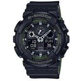 CASIO/G-SHOCK/酷炫自我風格運動腕錶/GA-100L-1A