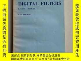 二手書博民逛書店數字濾波器罕見第2版 英文版Y11897 R.W.HAMMING R.W.HAMMING 出版1977