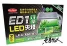 MR.AQUA 水族先生 【ED1 LED 水草側夾燈 mini/24cm以下】 D-MR-811 魚事職人
