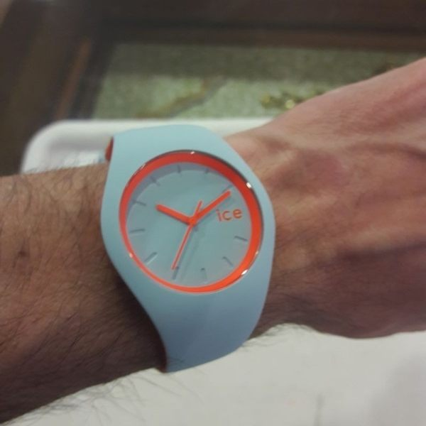 【Ice-Watch】玩色系列 炫彩新時尚手錶 (天空藍/橘 IWDUO.OES.U.S.16)