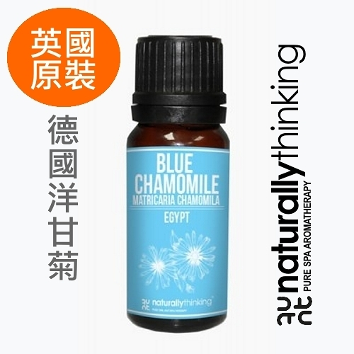 NT 德國洋甘菊純精油 10ml。Chamomile Blue。英國原裝 Naturally Thinking