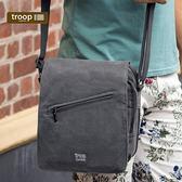 【TROOP】經典品格CLASSIC單肩包/TRP0238BK(大)