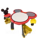 迪士尼兒童遊戲桌 (一桌一椅) 經典紅