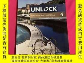 二手書博民逛書店Unlock罕見Reading Writing Skills 4 閱讀寫作技巧4Y178777 Chris S
