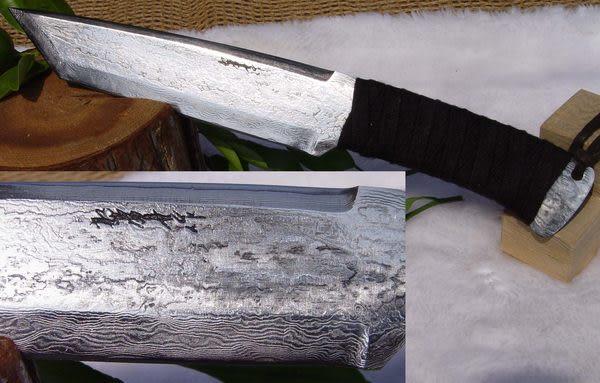 郭常喜與興達刀具--郭常喜限量手工刀品-積層鋼藝術刀(A0057)