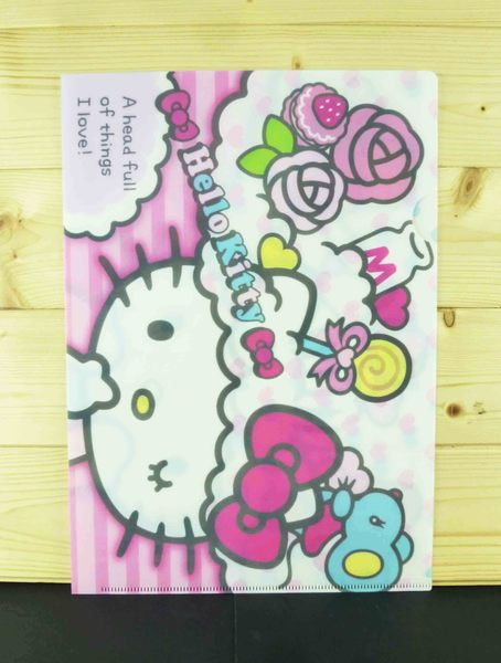 【震撼精品百貨】Hello Kitty 凱蒂貓~2入文件夾~粉夢想