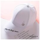 Catworld 星星吊飾文字刺繡棒球帽【18003565】‧F