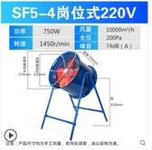 崗位式軸流風機220v工業風扇排氣扇管道式排風機排風扇工業級380v 酷男精品館
