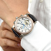 范倫鐵諾˙古柏 水鑽三眼機械錶NEV96
