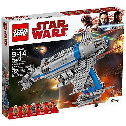 LEGO 樂高 Star Wars Episode VIII Resistance Bomber 75188 Building Kit (780 Piece)