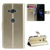 時尚瘋馬紋 索尼Sony Xperia XZ2 Compact H8314 H8324 手機殼 掀蓋保護殼 磁釦翻蓋皮套
