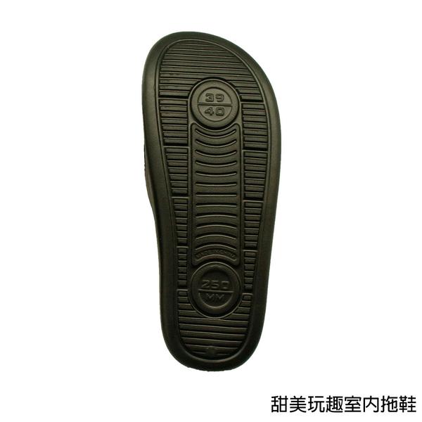 【333家居鞋館】甜美玩趣室內拖鞋-黑色/水綠