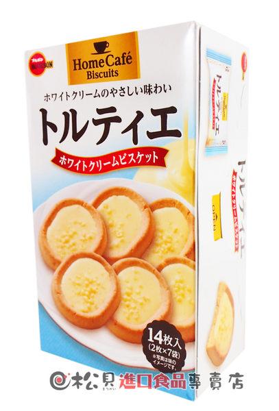 《松貝》北日本白奶油餡餅112g【4901360327294】bb28