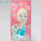 迪士尼 冰雪奇緣浴巾 艾莎與雪寶款 ~DK襪子毛巾大王
