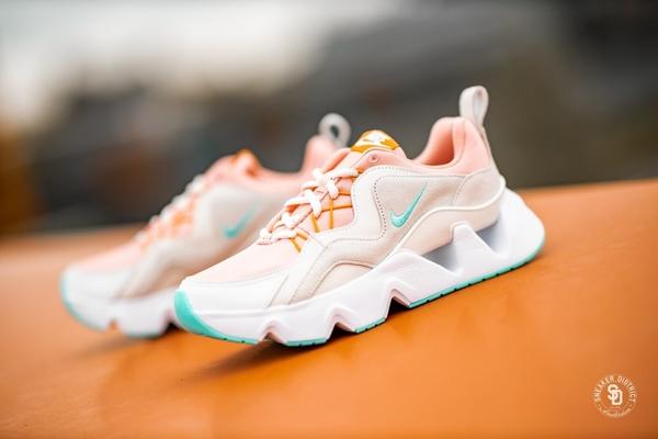 IMPACT Nike Ryz 365 Trainers 粉綠 麂皮 增高 孫芸芸著用 台灣未發 BQ4153-600