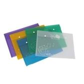 A4 古靈精怪橫式按扣公文袋 (105-PS) 多色可選 資料夾 資料袋 收納盒 文件夾專家達人 DATABANK