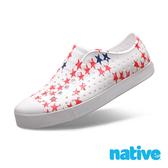 native JEFFERSON 男/女鞋-貝殼白x小星星
