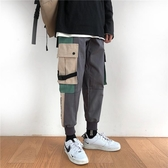 工裝褲男日系寬鬆多口袋休閒韓版束腳褲子【毒家貨源】