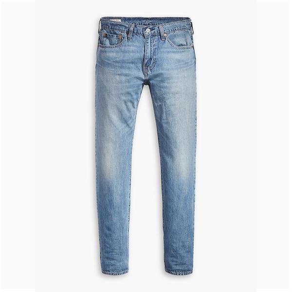 Levis 男款 上寬下窄 / 502 Taper 牛仔褲 / Cool Jeans / 直向彈性延展 / 水洗藍