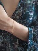 3mm淡水珍珠 單顆珍珠 手鍊 18K金飾品套組 抗過敏 獨家自訂款