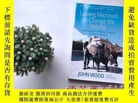 二手書博民逛書店英文原版書:Leaving罕見Microsoft to Chan