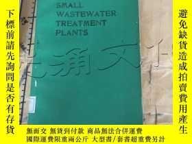 二手書博民逛書店Small罕見Wastewater Treatment Plan