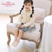 CARAMELLA兒童襪子秋冬女中筒襪新生嬰兒純棉卡通寶寶襪1-3-5-7歲 解憂雜貨鋪