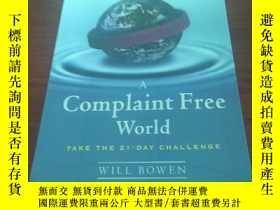 二手書博民逛書店A罕見complaint free worldY314746 W