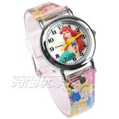 Disney 迪士尼 華特 日本機芯 小美人魚 童話公主 卡通手錶 兒童手錶 粉紅 D美人魚-3