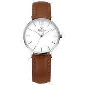 OBAKU 精粹重現十週年限定真皮錶款-V197LXCWRN