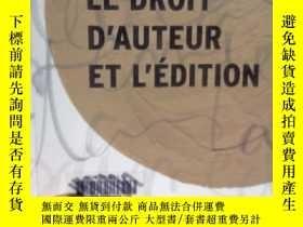 二手書博民逛書店LE罕見DROIT D AUTEUR ET L EDITIONY