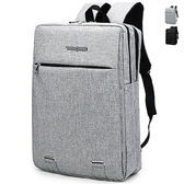 韓版後背包 男女雙肩書包 可放15吋筆電【非凡上品】x285