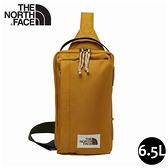 【The North Face 6.5L 多功能單肩斜背包《棕》】3KZS/側背包/輕巧休閒包/隨行包/外出包
