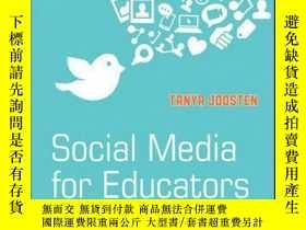二手書博民逛書店Social罕見Media for Educators: Strategies and Best Practice