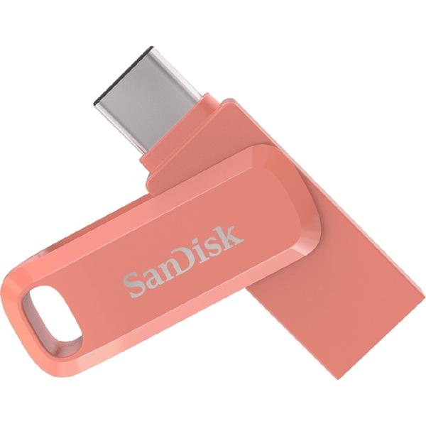 SanDisk Ultra Go 紅 USB Type-C 64GB 雙用隨身碟 USB3.1 / 讀:150M SDDDC3 64G DCP64