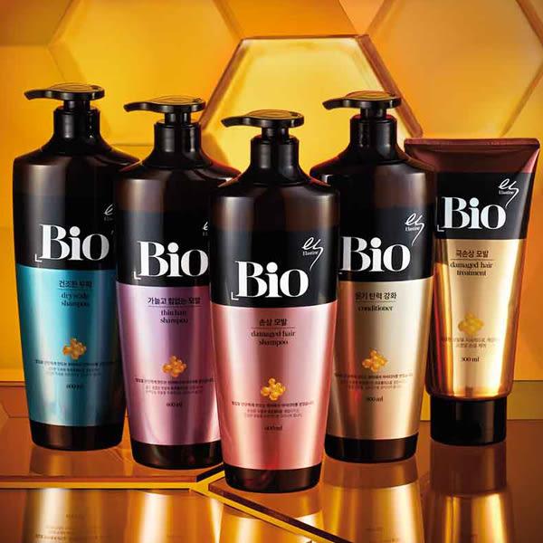 韓國Elastine Bio玻尿酸深層保濕/髮際蜂王漿洗髮精/潤髮乳(600ml) 4款可選【小三美日】